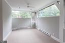 light-filled sunroom/office - 3700 ALBEMARLE ST NW, WASHINGTON