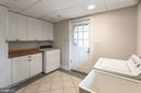 Lower Level laundry - 3700 ALBEMARLE ST NW, WASHINGTON