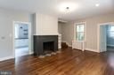 Cozy family room with powder room - 3700 ALBEMARLE ST NW, WASHINGTON