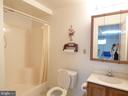 Finished walk out basement with full bath - 12219 CHAPEL RD, CLIFTON