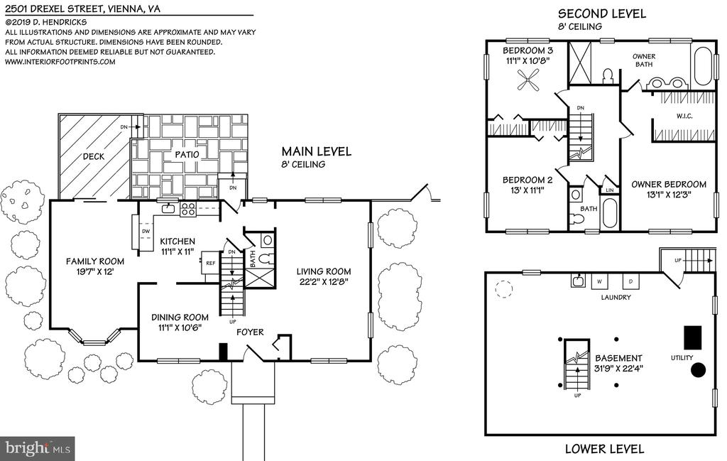 Floor Plans can be emailed upon request - 2501 DREXEL ST, VIENNA