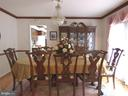 Formal dining room - 12219 CHAPEL RD, CLIFTON