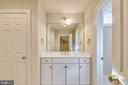 Full bath in lower level. - 9880 PALACE GREEN WAY, VIENNA
