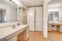 Both bedrooms have an en-suite bathroom - 1600 N OAK ST #1116, ARLINGTON