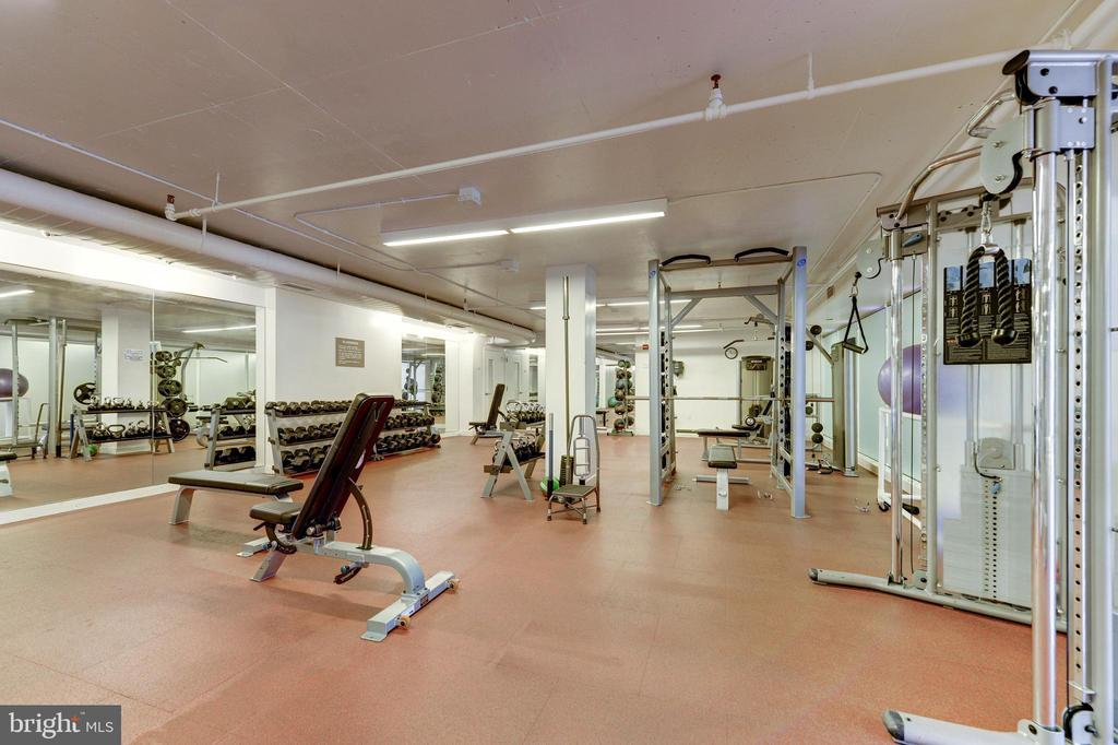 Large fitness center - 1600 N OAK ST #1116, ARLINGTON