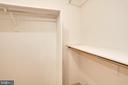 Walk-in closet - 1600 N OAK ST #1116, ARLINGTON