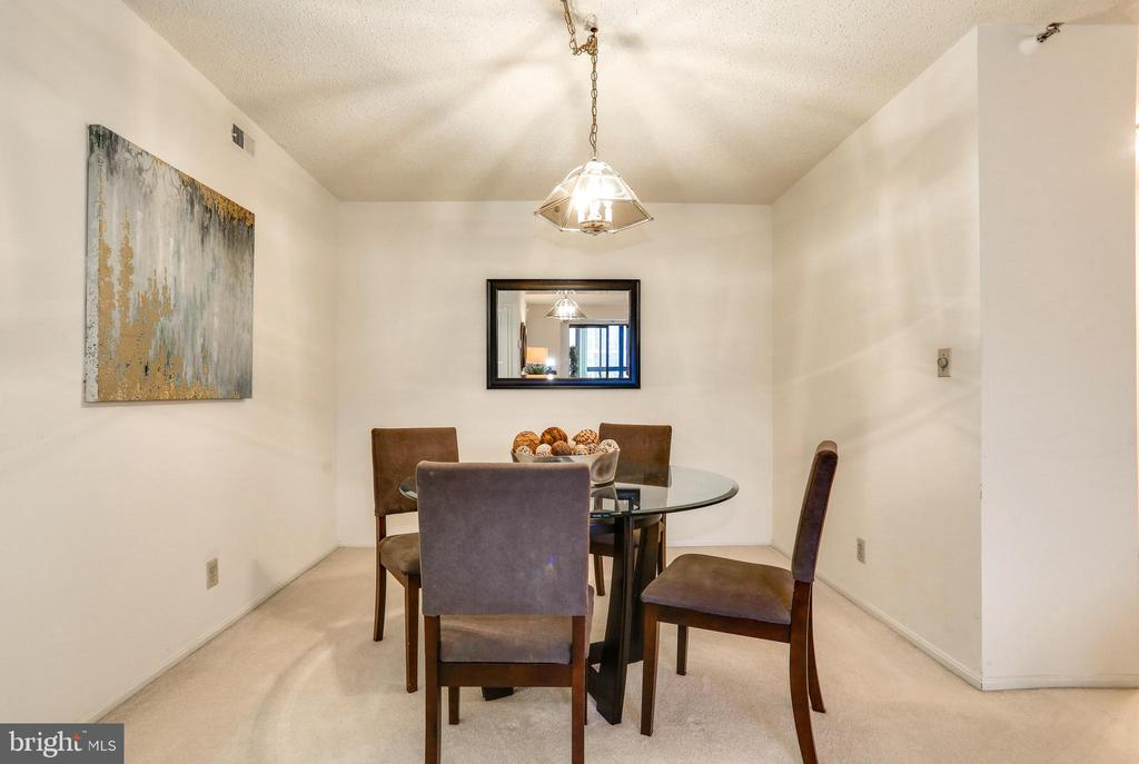 Dining area - 1600 N OAK ST #1116, ARLINGTON