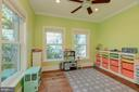 Playroom/ Office / Main Level Bedroom - 704 CHALFONTE DR, ALEXANDRIA