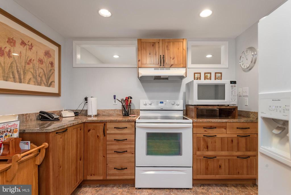 Second Kitchen in the In-law Suite - 4820 WINTERGREEN CT, WOODBRIDGE