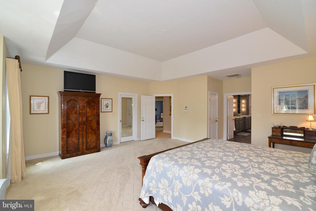 Master Bedroom Suite Includes Two Walk-In Closets. - 10507 WICKENS RD, VIENNA