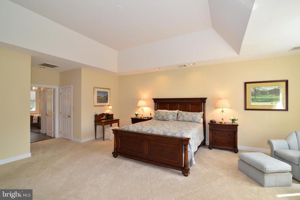 Master Bedroom Suite with Tray Ceiling. - 10507 WICKENS RD, VIENNA