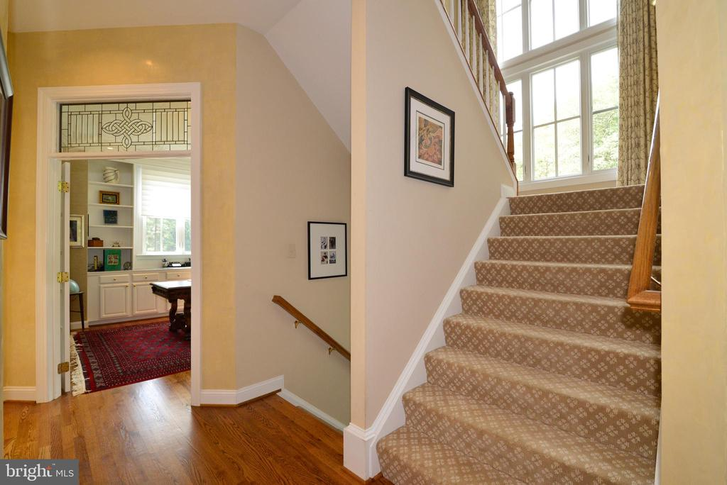 View of  Open Stairways. - 10507 WICKENS RD, VIENNA