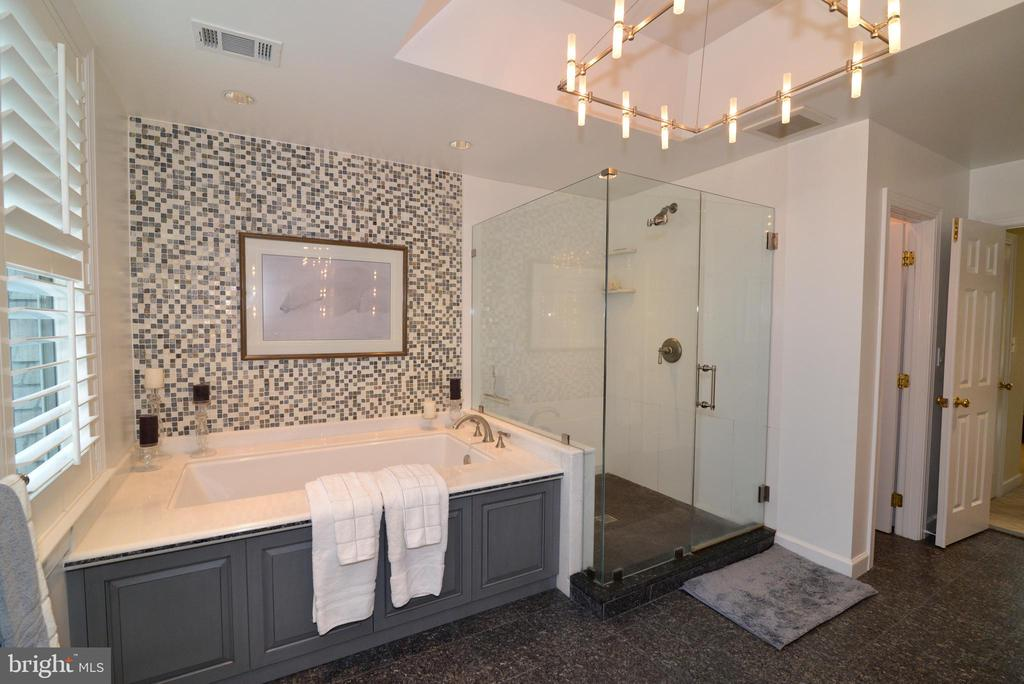 Luxurious Soaking Tub and Separate Shower. - 10507 WICKENS RD, VIENNA