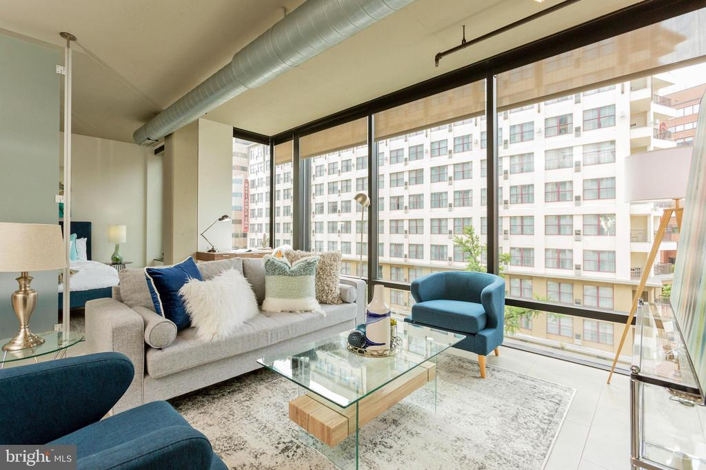 Floor-to-Ceiling Windows - 1133 14TH ST NW #504, WASHINGTON