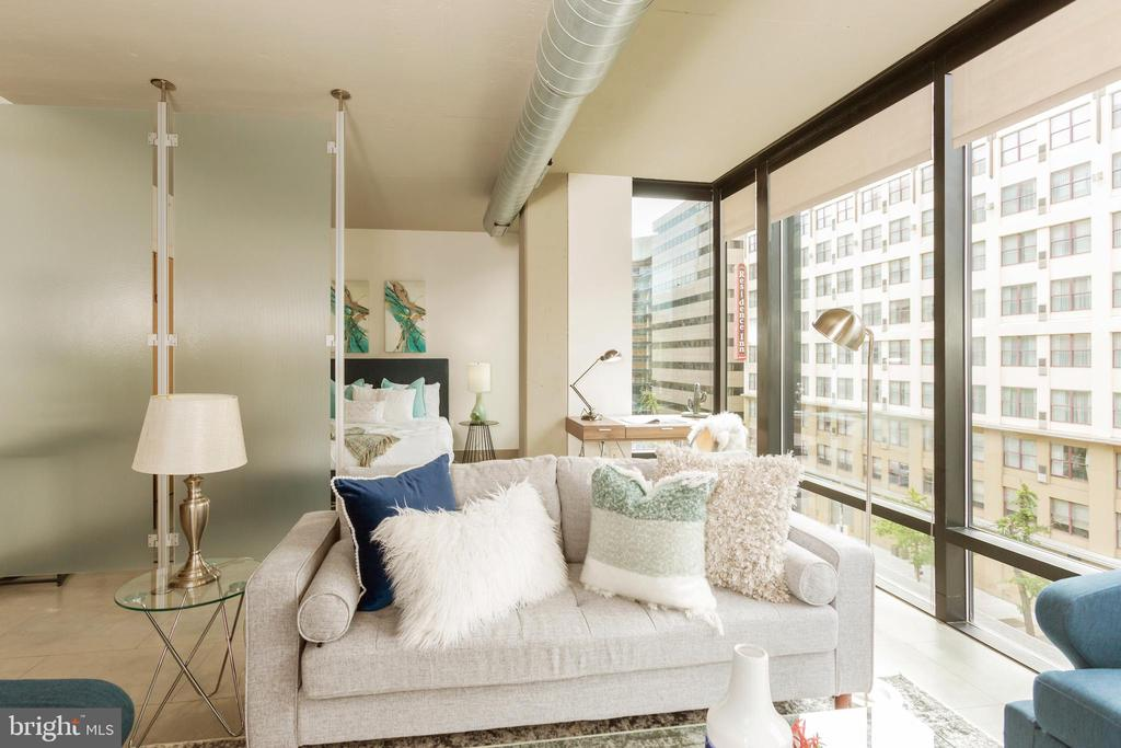 Porcelain Tile Floors - 1133 14TH ST NW #504, WASHINGTON
