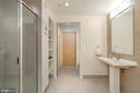 Full Bathroom with Storage - 1133 14TH ST NW #504, WASHINGTON