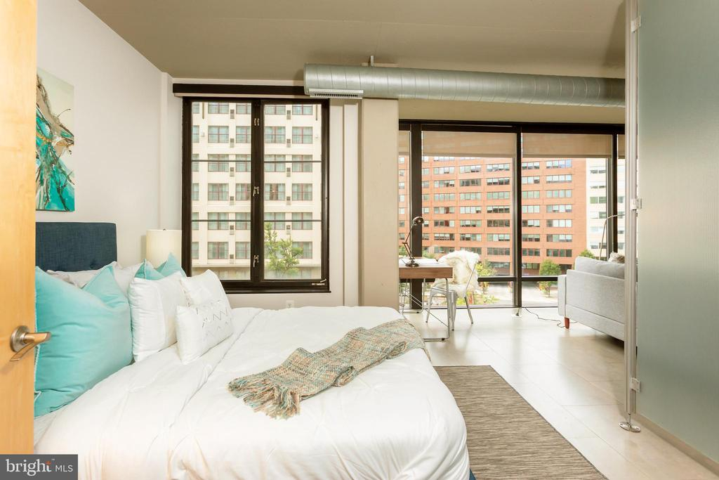 Bedroom One - 1133 14TH ST NW #504, WASHINGTON