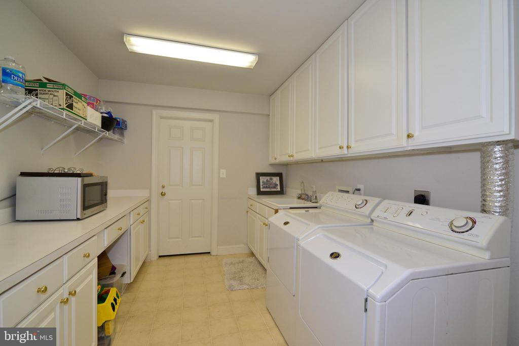 Lower Level Laundry/Catering Area/Storage. - 10507 WICKENS RD, VIENNA