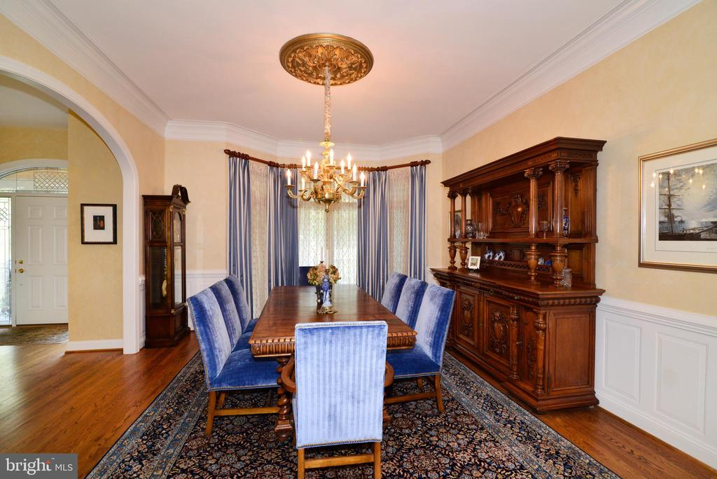 Dining Room. - 10507 WICKENS RD, VIENNA