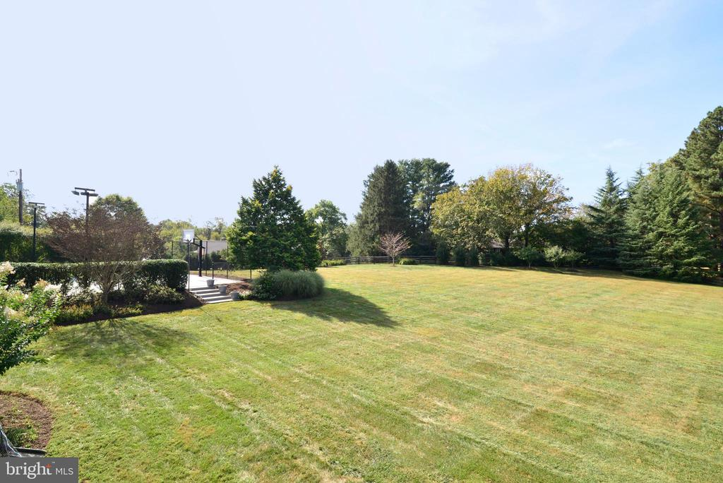 View of Yard and Sport Court. - 10507 WICKENS RD, VIENNA