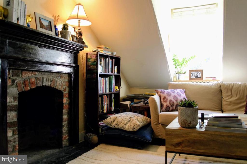 Apartment 2 living room - 220 S WASHINGTON ST, ALEXANDRIA