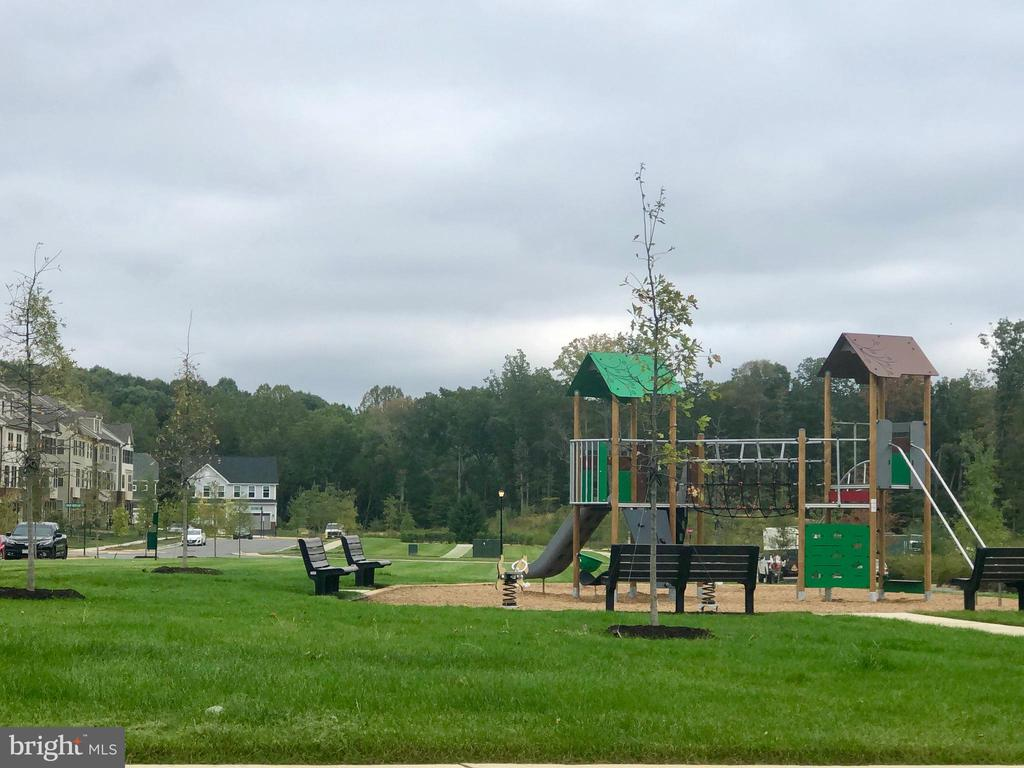 A better view of the playground area - 2283 RIVER BIRCH RD, DUMFRIES