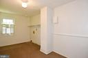 Laundry on the bedroom level - 320 MARKET, LEESBURG