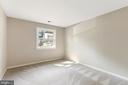 LOWER LEVEL BEDROOM - 13227 NASSAU DR, WOODBRIDGE