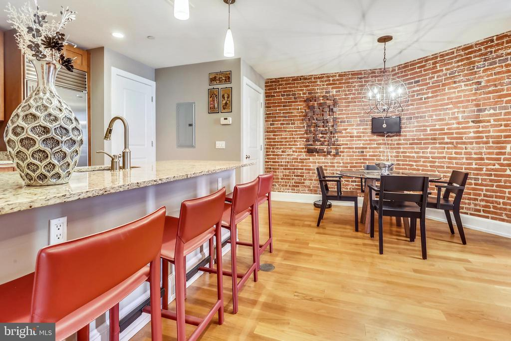Plenty of counter space to entertain - 215 I ST NE #1A, WASHINGTON