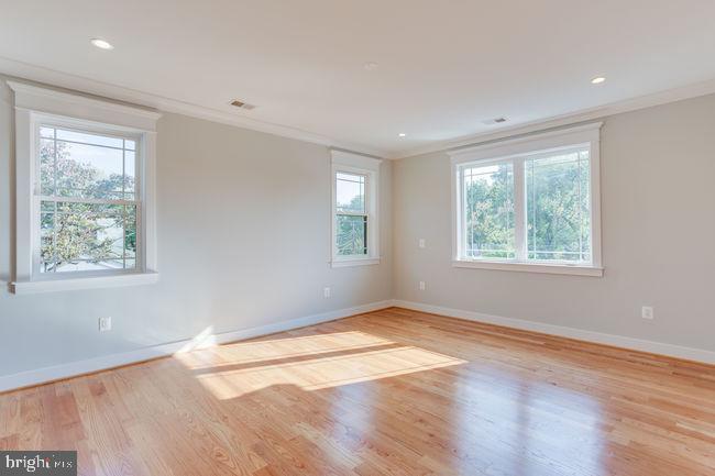 Main floor bedroom - 7022 HECTOR RD, MCLEAN