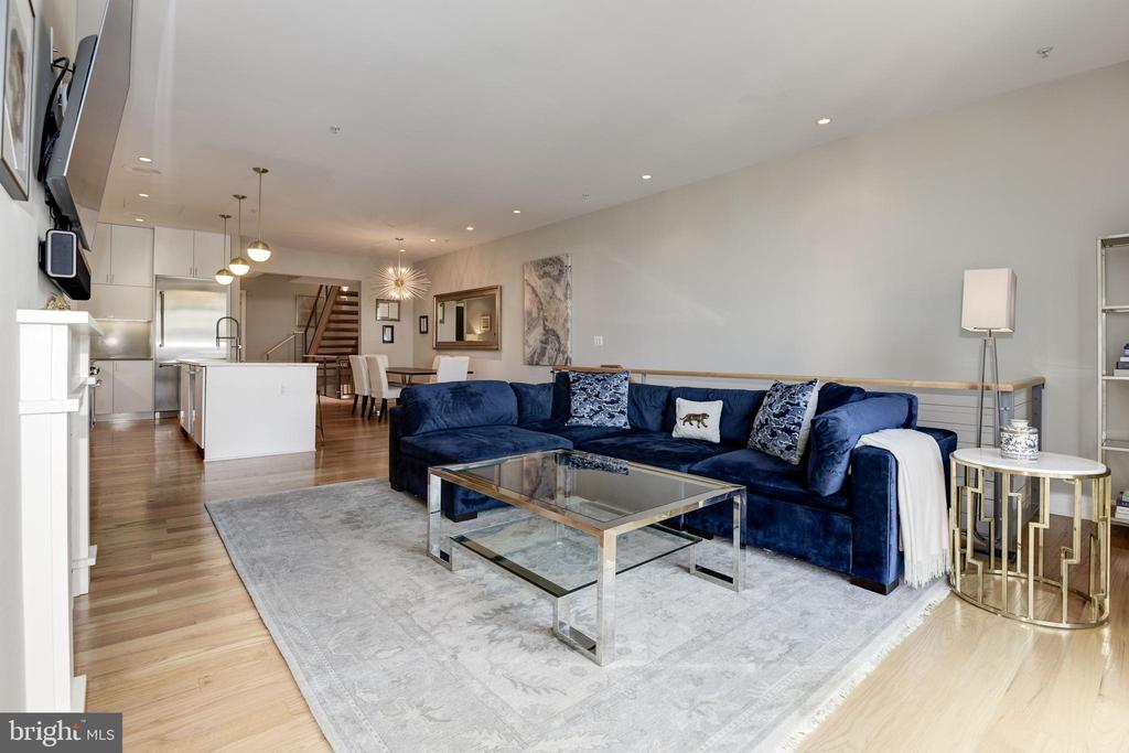 Living Room - 624-1 8TH ST NE #201, WASHINGTON