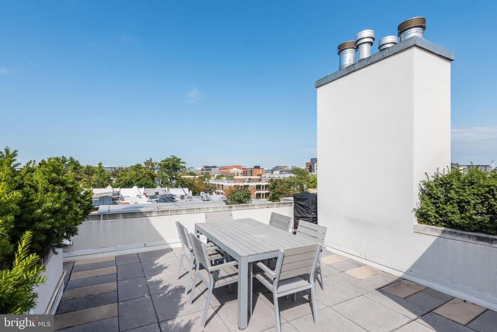 Top Level Roof Terrace - 624-1 8TH ST NE #201, WASHINGTON