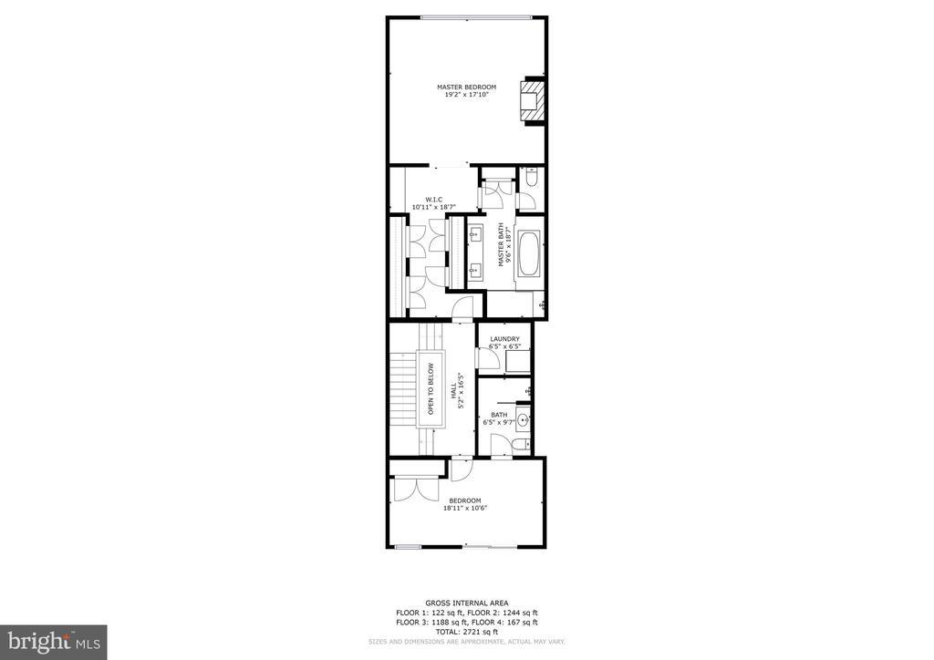 Upper Level - 624-1 8TH ST NE #201, WASHINGTON