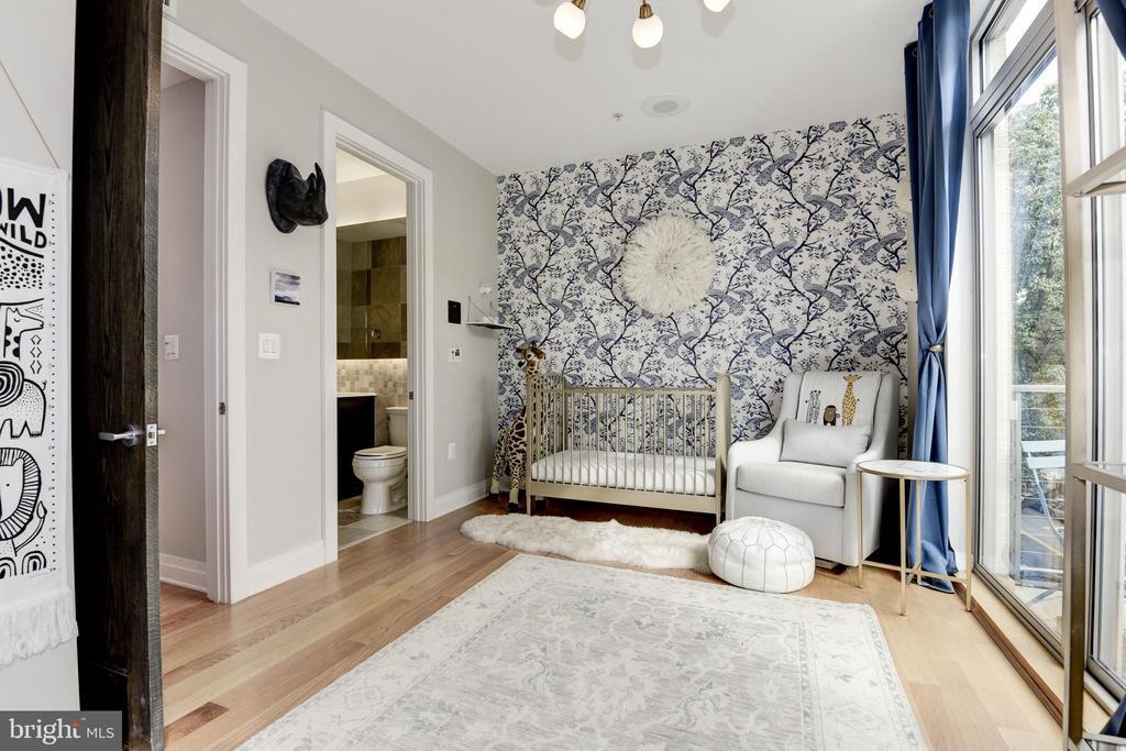 Third Bedroom/Nursery - 624-1 8TH ST NE #201, WASHINGTON