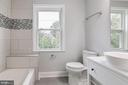 Hallway Bathroom - 1810 RANDOLPH ST NE, WASHINGTON