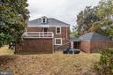 Exterior - Rear - 1810 RANDOLPH ST NE, WASHINGTON