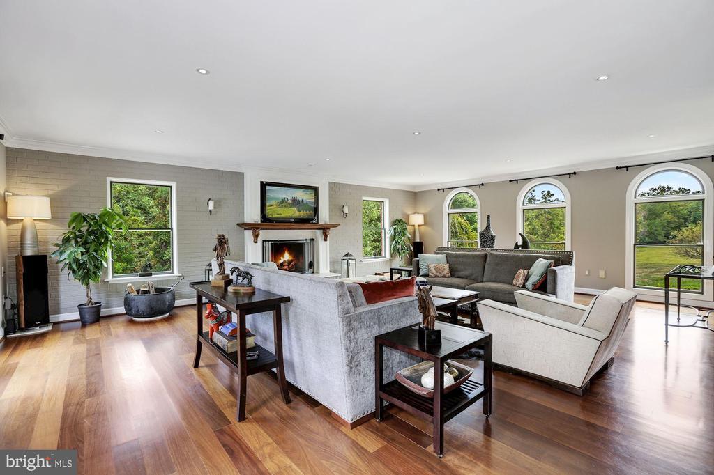 Generous Family Room w/Views on Three Sides - 12580 HALL SHOP RD, FULTON
