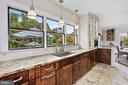 Light-filled Designer Kitchen & Window Views - 12580 HALL SHOP RD, FULTON