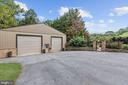 Gated Entry to Outdoor Living & Entertaining Space - 12580 HALL SHOP RD, FULTON