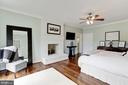 Master Suite, Fireplace & Two Dressing Closets - 12580 HALL SHOP RD, FULTON