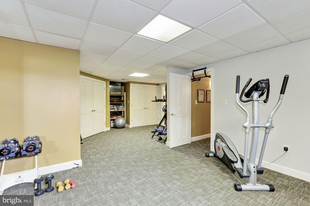 Exercise Room & Attached Full Bath - 12580 HALL SHOP RD, FULTON