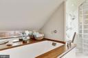 Soaking Tub & Mirrored Spash - 12580 HALL SHOP RD, FULTON