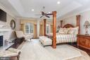 Master Bedroom Suite - 8548-A GEORGETOWN PIKE, MCLEAN