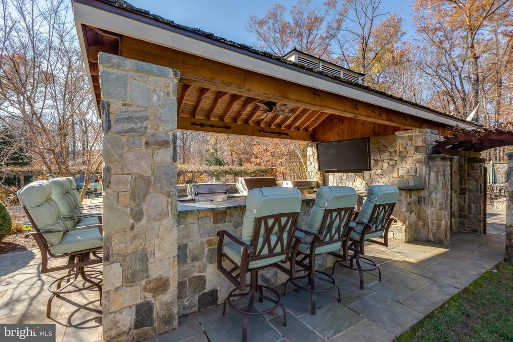 Outdoor Kitchen - 8548-A GEORGETOWN PIKE, MCLEAN