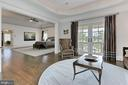 Master Bedroom/Sitting Room - 22694 CREIGHTON FARMS DR, LEESBURG