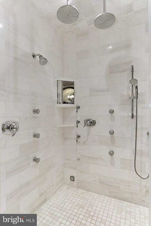 Ultra Shower with Body Sprayers - 22694 CREIGHTON FARMS DR, LEESBURG