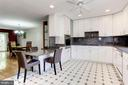 Kitchen - Opens Beautifully to Living Rm/Dining Rm - 1706 TYVALE CT, VIENNA