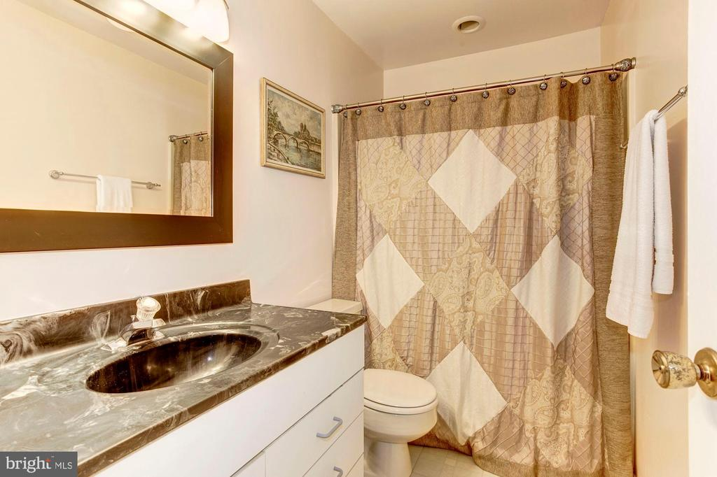 Full Bathroom #3 - Lower Level of Home - 1706 TYVALE CT, VIENNA