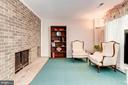 Wood Burning Fireplace is Such a Statement Piece! - 1706 TYVALE CT, VIENNA
