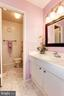 Master Bathrm - Shower & Toilet Separate from Sink - 1706 TYVALE CT, VIENNA